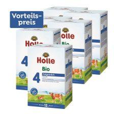 6 x Bio-Folgemilch 4, Vorteilspack, ab dem 12. Monat (6x600g)