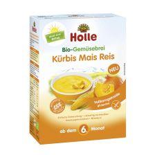 Bio-Gemüsebrei Kürbis Mais Reis, ab dem 6. Monat (175g)