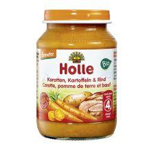 Demeter Karotten, Kartoffeln & Rind, nach dem 4. Monat (190g)