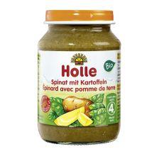 Bio Spinat mit Kartoffeln, nach dem 4. Monat (190g)