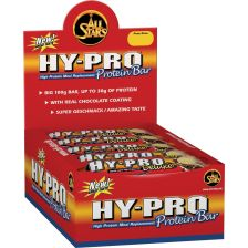 Hy-Pro Deluxe Bar - 24x100g - Weiße Schokolade-Crunch
