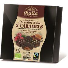 Pralinen Zartbitterschokolade & Karamell bio (125g)