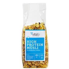 High Protein Müsli Blaubeere Kokos (525g) - MHD 26.04.2019
