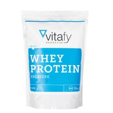 Whey Protein Essentials - 1000g - Erdbeere - MHD 24.01.2019