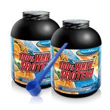 2 x 100% Whey Protein (2350g) + Dosierlöffel gratis!