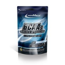 BCAAs + Glutamine Powder - 550g - Cola Limette