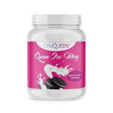 Queen Iso Whey Zero - 500g - Cookies & Cream Aroma