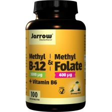 Methyl B-12 + Methyl Folate + Vitamin B6 (100 Lutschtabletten)