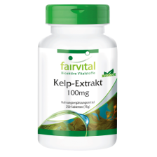 Kelp-Extrakt 100mg (250 Tabletten)