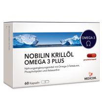 Krillöl Omega 3 Plus (60 Kapseln)