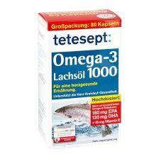 Omega 3 Lachsöl (80 Kapseln)