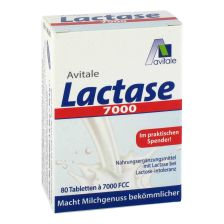 Lactase 7000 FCC (80 Tabletten)