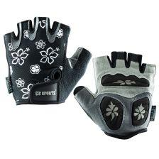 Lady Fitness Handschuhe (Schwarz)