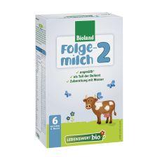 泓乐乐博维有机婴儿奶粉2段(6个月以上)500克Lebenswert Bio-Folgemilch 2, nach dem 6. Monat (500g)