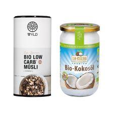 Bio Low Carb* Müsli Schokolade (350g) + Dr. Goerg Kokosöl (1000ml)