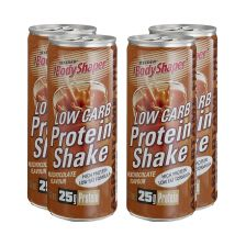 4 x BodyShaper Low Carb Protein Shake (250ml)