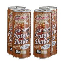 4 x BodyShaper Low Carb Protein Shake (250ml)
