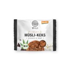 "Demeter Müsli-Keks Schoko & Hanf ""Breakfast to Go"" (12x50g)"