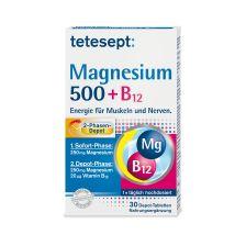 Magnesium 500 + B12 Depot (30 Tabletten)