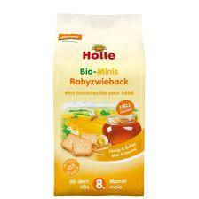 鸿乐有机婴儿干面包 8个月起 100g  Bio-Minis Babyzwieback, ab dem 8. Monat (100g)