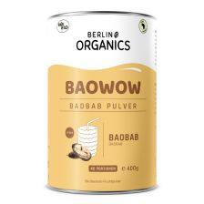 Baowow Baobab Fruchtpulver Bio (400g)
