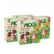 4x Mogli Tiger Kekse (4x125g)