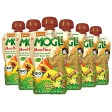 6x Mogli Moothie bio Aprikose-Banane-Quitte (6x100g)