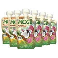 6x Mogli Trink Obst bio Apfel-Guave-Kokos (6x100g)