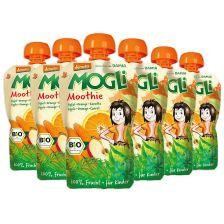 6x Mogli Trink Obst bio Apfel-Orange-Karotte (6x100g)