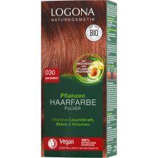 Pflanzen Haarfarbe Pulver 030 naturrot (100g)