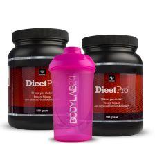 2 x Dieet Pro 500g + Shaker
