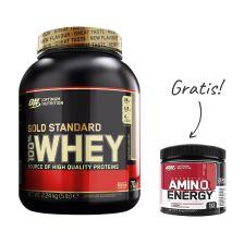 100% Whey Gold Standard (2273g) + Amino Energy (90g) GRATIS