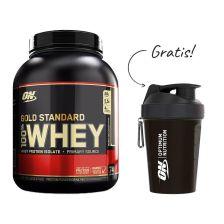 100% Whey Gold Standard (2273g) + Mini Shaker Smartshake Lite (600ml) gratis