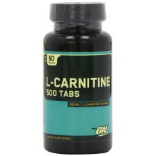 L-Carnitine 500 mg (60 Tabletten) - MHD 31.01.2019