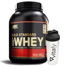 100% Whey Gold Standard (2273g) + Vitafy Shaker (600ml)