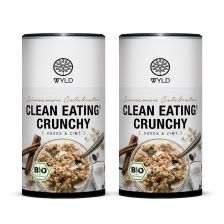 "2 x Bio Clean Eating* Crunchy Kokos & Zimt ""Cinnamon Celebrator"" (350g)"