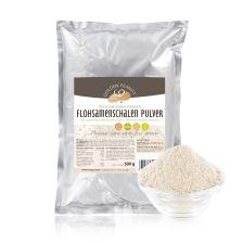 Indische Premium Flohsamenschalen Pulver 99% gemahlen (500g)