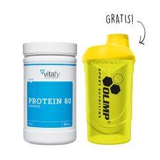 Protein 80 (500g) + Gratis Olimp Shaker