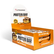 Proteinbar - 12x64g - Chunky Peanut & Caramel - MHD 18.04.2019