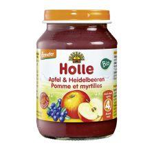 Demeter Apfel & Heidelbeeren, nach dem 4. Monat (190g)