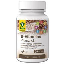 B-Vitamine Pflanzlich (50 Kapseln)