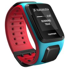 Runner 2 Cardio+Music - L - Scuba Blue/ Red