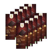 10 x Bio Schokolade Sao Tomé 95% (10x80g)