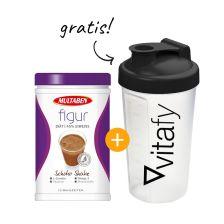 Figur Eiweiß-Diät Shake (430g) + GRATIS Vitafy Shaker (600ml)