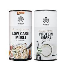 "Demeter Low Carb* Müesli Früchte ""Mood Activator"" (450g) + Bio Protein Shape Shifter (450g)"