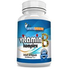 Vitamin B Komplex (60 Kapseln)
