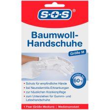 Baumwollhandschuhe (1 Paar, M)