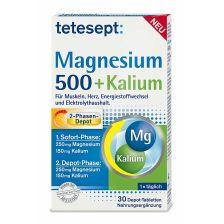 Magnesium 500 + Kalium (30 Tabletten)