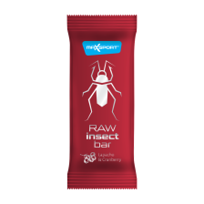 Raw Insect Bar - 20x40g - Lapacho & Cranberry