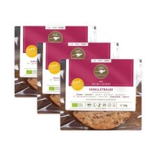 3 x eat Cookies Vanilletraum (3x50g)